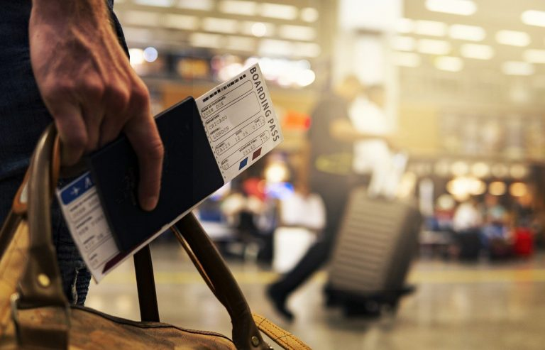 travel, airport, boarding pass